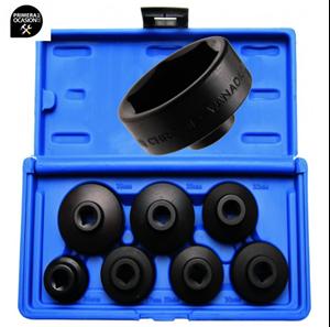 Imagen de Juego 7 vasos extractores de filtro de aceite perfil bajo BGS