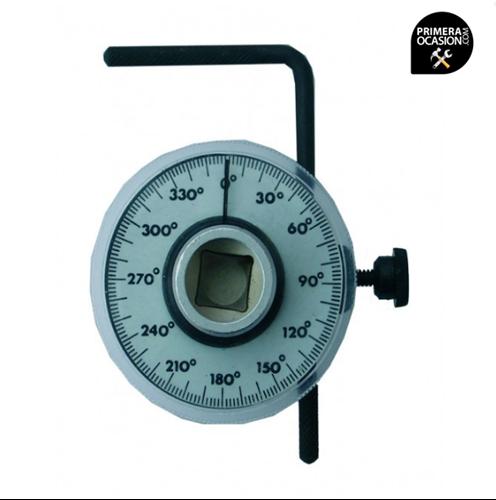 """Imagen de Goniometro 1/2"""" para comprobacion de angulo de par cabezal cuadrado BGS"""