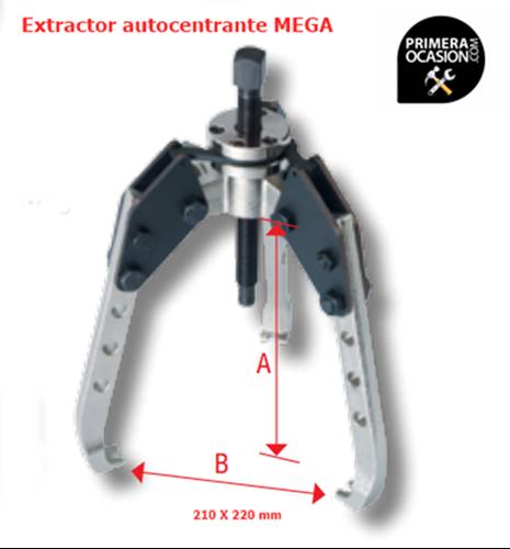 Imagen de Extractor autocentrante MEGA E23