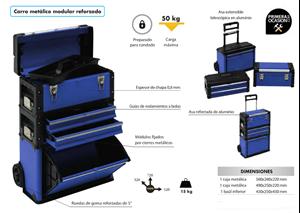 Imagen de Carro metalico modular ALYCO 183310