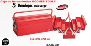 Imagen de Caja de herramientas metalica DOGHER TOOLS 026-005