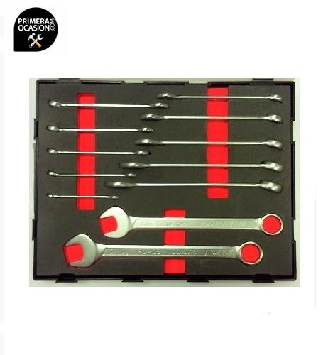 Imagen de Juego 12 llaves combinadas SAE FORCE K5121S