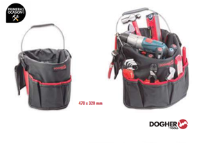 Imagen de Bolsa porta-herramientas para cubo DOGHER TOOLS 076-009