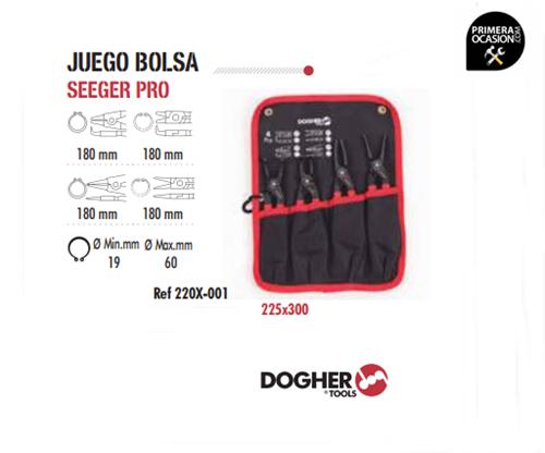 Imagen de Juego 4 alicates seeger pro DOGHER TOOLS 220x-001