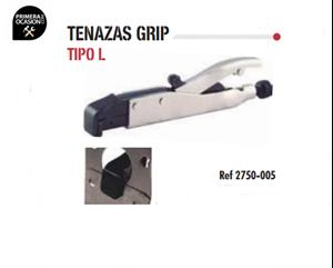 Imagen de Tenazas grip tipo L DOGHER TOOLS 2750-005