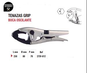 Imagen de Tenazas grip boca oscilante DOGHER TOOLS 275F-012