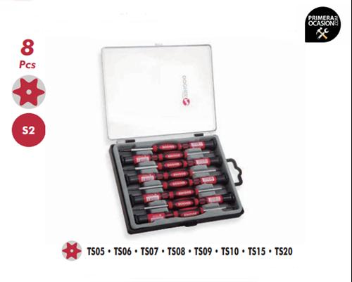 Imagen de Juego 8 destornilladores de precision DOGHER TOOLS 383-001