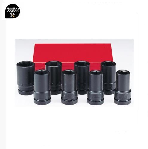 """Imagen de Juego 8 vasos impacto largos SAE 1""""  FORCE 8081DS"""