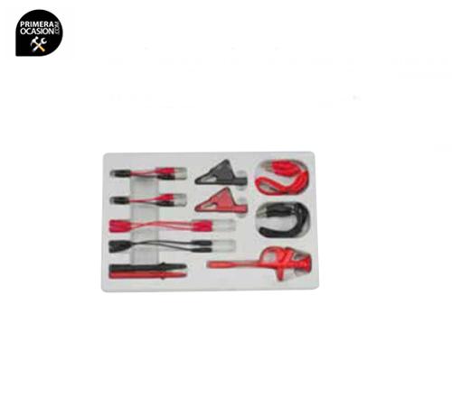 Imagen de Juego pinzas y conectores para tester 13 piezas FORCE 913C1