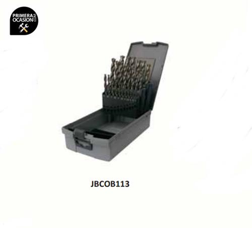 Imagen de Juego 25 brocas NOVATOOLS HSS-CO JBC0B113