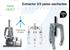 Imagen de Extractor 2/3 patas oscilantes FORZA 1304LT 185x175 mm