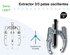 Imagen de Extractor 2/3 patas oscilantes FORZA 1310T 300x310 mm