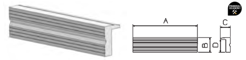 Imagen de Juego mordazas aluminio con ranurado FORZA 8812551