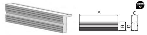 Imagen de Juego mordazas aluminio con ranurado FORZA 8815051