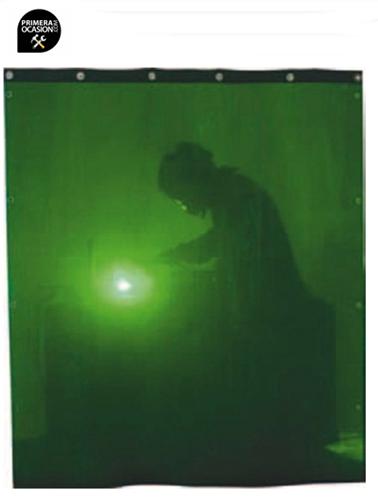 Imagen de Cortina soldadura verde SOLTER 2000x1400