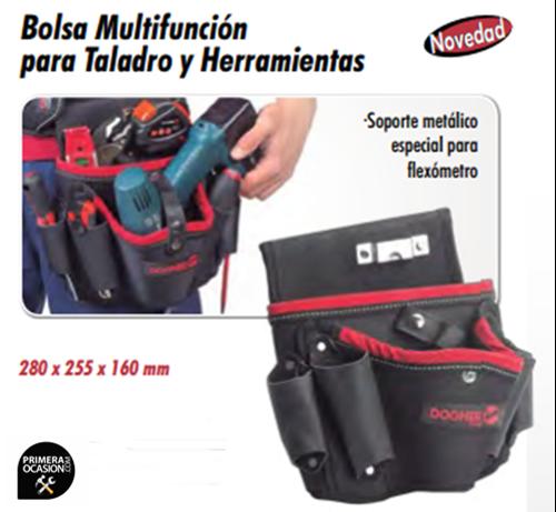 Imagen de Bolsa multifuncion para taladro y herramientas DOGHER TOOLS 075-001
