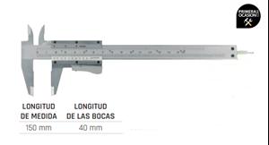 Imagen de Calibre acero inoxidable 150 mm LIMIT 119090108