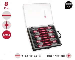 Imagen de Juego 8 destornilladores de precision DOGHER TOOLS 380-003