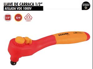 """Imagen de Llave de carraca 1/2"""" aislada DOGHER TOOLS 544-009"""