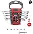 Imagen de Juego 6 llaves combinadas carraca plana sin reversor DOGHER TOOLS 4557-016