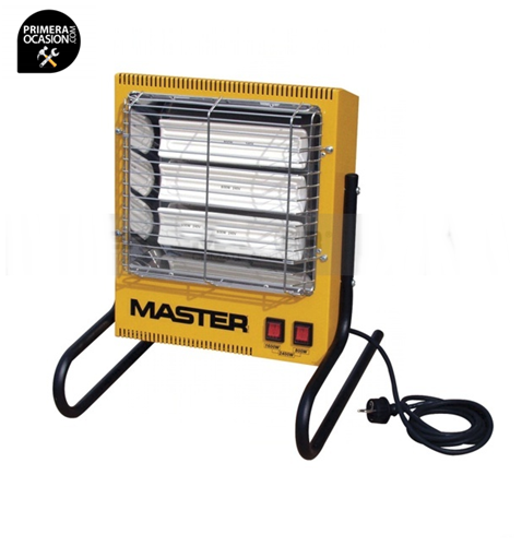 Imagen de Calentador electrico infrarrojos MASTER TS3A