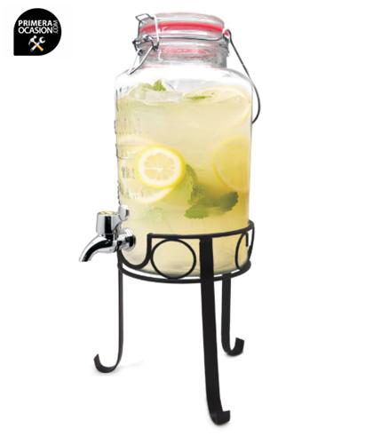 Imagen de Jarra dispensadora 3 litros con soporte VIN BOUQUET (NERTHUS) FIH 285