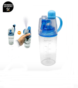 Imagen de Botella agua con spray 400 ml VIN BOUQUET (NERTHUS) FIH 286