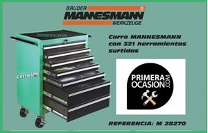 Imagen de Carro 321 herramientas MANNESMANN- Ref: 28270