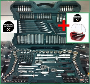Imagen de Maletin herramientas MANNESMANN 215 Piezas + Extractores