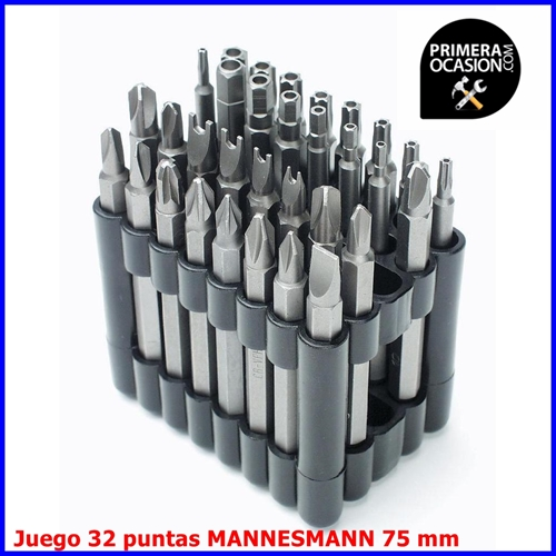 Imagen de Juego 32 puntas MANNESMANN 75 mm