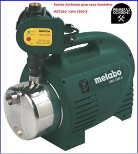 Imagen de Bomba automata para agua domestica METABO HWA 3300 S