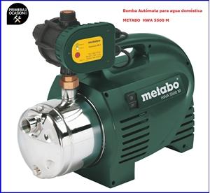 Imagen de Bomba automata para agua domestica METABO HWA 5500 M