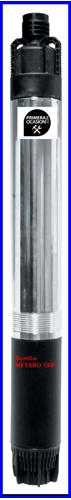 Imagen de Bomba sumergible para pozos profundos METABO TBP 4000 M