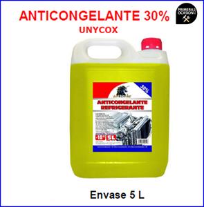 Imagen de Anticongelante -18º UNYCOX 20 Litros