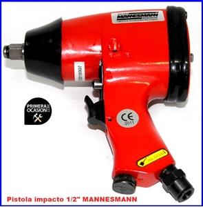 """Imagen de Pistola de impacto neumatica 1/2"""" MANNESMANN"""