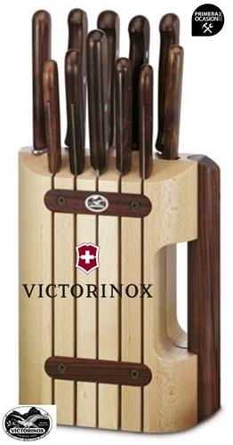 Imagen de Taco madera con 11 cuchillos VICTORINOX 5.1150.11