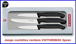 Imagen de Juego 3 cuchillos verdura VICTORINOX  6.7113.3G