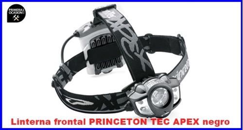 Imagen de Linterna frontal PRINCETON TEC APEX negro