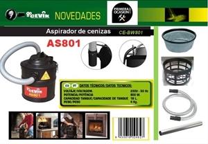 Imagen de Aspirador cenizas CEVIK BW801