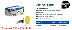 Imagen de Kit de aire MICHELIN 5 Piezas 1126001430