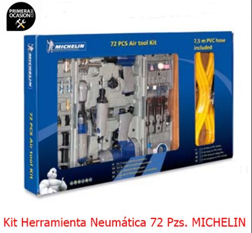 Imagen de Kit herramienta neumatica MICHELIN 72 pzs CA-6010980000