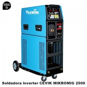 Imagen de Soldadora multifuncion CEVIK CE-MIKROMIG 2500