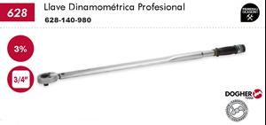 "Imagen de Llave dinamometrica profesional DOGHER TOOLS 3/4"" 140-980 Nm"
