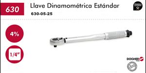 "Imagen de Llave dinamometrica 1/4"" 5-25 Nm DOGHER TOOLS 630-05-25"