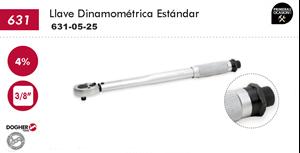 "Imagen de Llave dinamometrica 3/8"" 5-25 Nm DOGHER TOOLS 631-05-25"