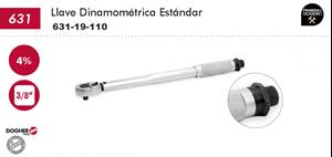 """Imagen de Llave dinamometrica estandar DOGHER TOOLS 3/8"""" 20-110 Nm"""