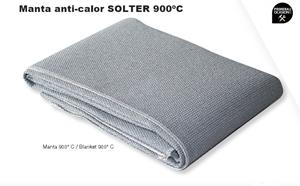 Imagen de Manta anti-calor SOLTER 950ºC 2000x1860 mm