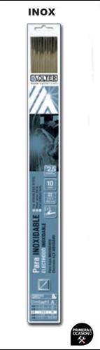 Imagen de Blister 10 electrodos inoxidable SOLTER 2.50 mm