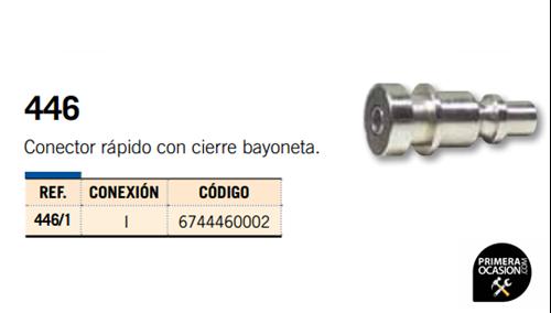 Imagen de Conector rapido con cierre bayoneta MICHELIN 446/1