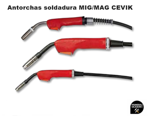 Imagen de Antorcha MIG/MAG CEVIK CE-AX15/3M